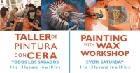 Painting with Wax / Pintura con cera
