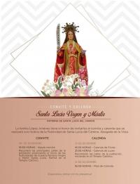 Festival of Santa Lucia / Festividad de Santa Lucia del Camino