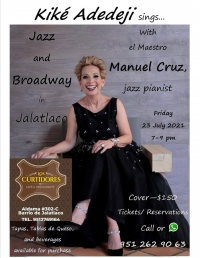 Kiké Adedeji, Jazz, Broadway & Manuel Cruz, Jazz Pianist