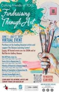 Fundraising through Art/ Recaudación de fondos a través del arte