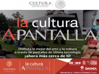 Cultural Screen Projection/ La Cultura A-Pantalla