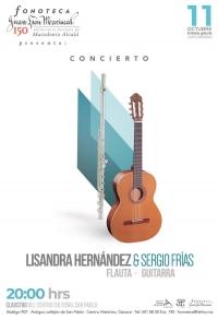 Concert / Concierto: Flute & Guitar / Flauta & Guitarra