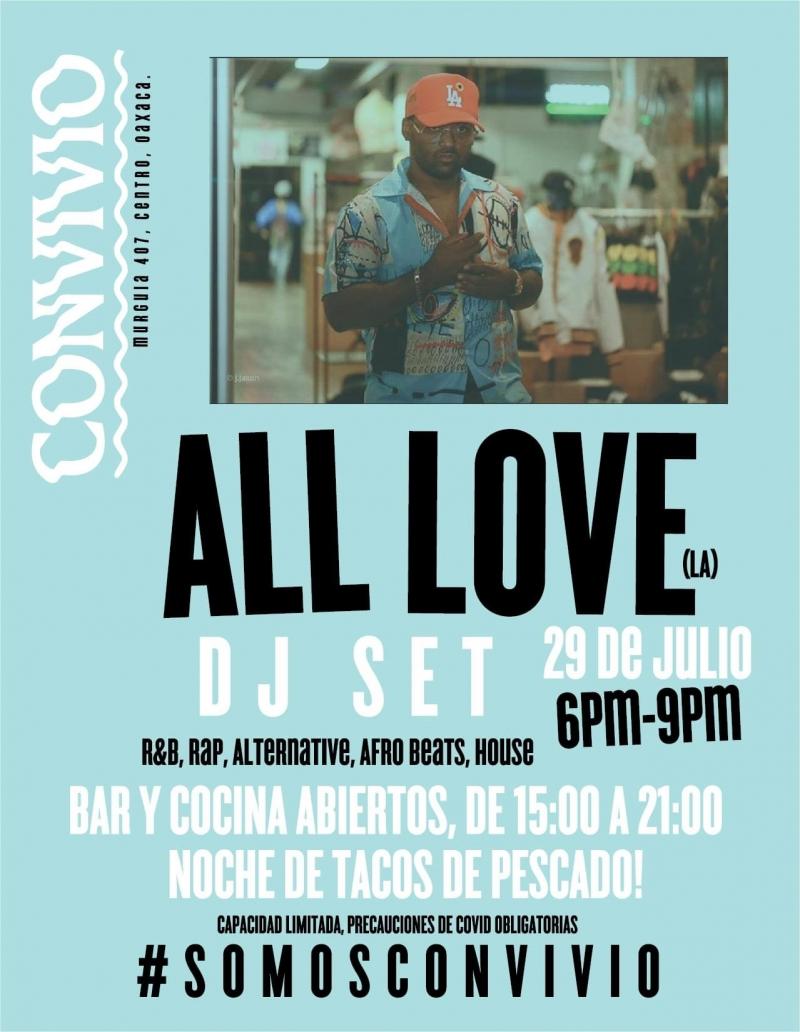 All Love DJ Set  at Convivio