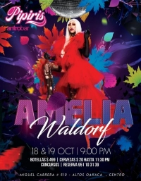 Amelia Waldorf Drag Show