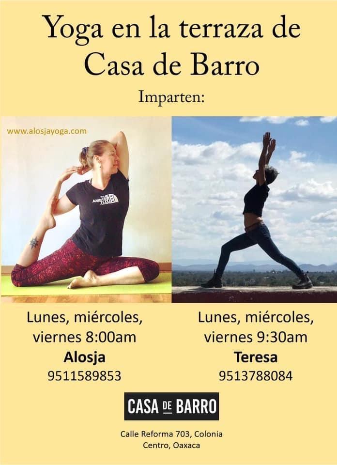 Yoga Classes / Clases de Yoga