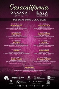 Oaxacalifornia: Visiting Chefs / Intercambio de chef