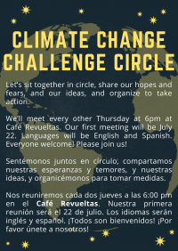 Climate Change Challenge Circle /  Cambio climático acción