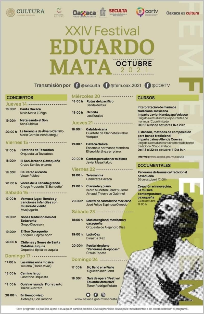 XXIV Festival Eduardo Mata