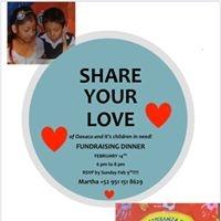 Share Your Love for the Children/Compartir su Amor por Las Ninas