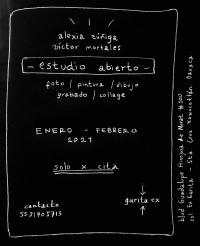 Open Studio – Alexia Zúñiga & Víctor Mortales