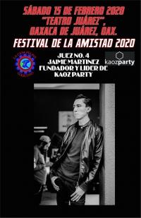 Festival of Friendship / de la Amistad 2020