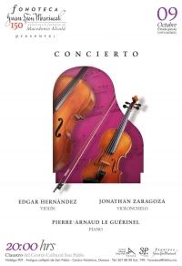 Concert / Concierto: Violin, Cello, Piano