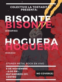 Bisonte (Chiapas), Hoguera (Oaxaca)