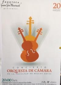 Concierto de Musica de Camara/Chamber Music Concert.