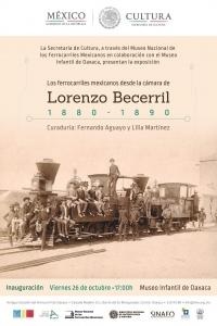 Mex. railways 1880-1890 / Ferrocarriles Mex. de Lorenzo Becerril