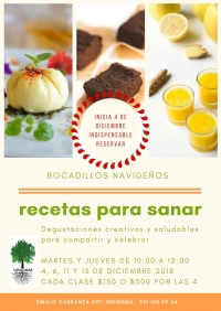 Recipes to Heal / Recetas para sanar