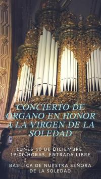Organ Concert / Concierto de Organo