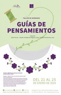 Thought Guides: Embroidery / Guias de pensamientos:Bordado