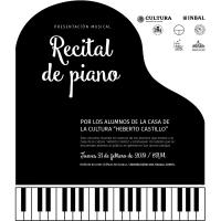 Piano Recital / Recital de Piano
