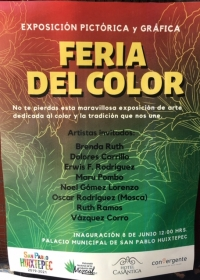 Color Fair and Expo / ExpoFeria del Color, Huixtepec