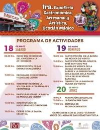 Expoferia: Food, music, art and artensanias, Ocotlán de Morelos