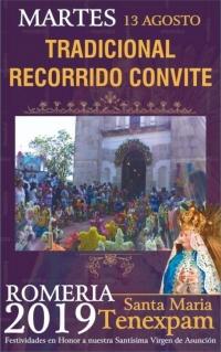 Traditional Procession and Feast / Tradicional Recorrido Convite