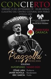 Concert to honor /Concierto en homenaje a: Francisco Toledo