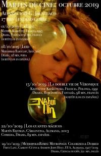 Free film showings / Peliculas gratuitas