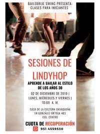 Lindyhop Sessions/Sesiones