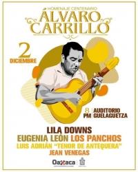 Concert in Tribute to/Concierto Homenaje a: Maestro Álvaro Carrillo