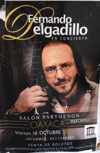 In concert/En concierto: Fernando Delgadillo