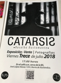 Catharsis: Photography Opening / Cataris: Fotografía