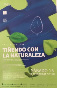 Dyeing with Nature / Tiñendo con  la naturaleza