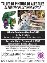 Alebrijes Paint Workshop / Taller de Alebrijes