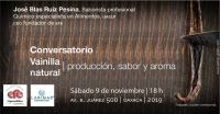 Conversation about Natural Vanilla / Conversatorio Vainilla Natural