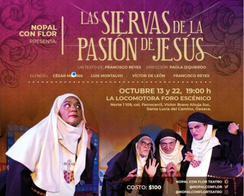 Las siervas de la pasión de Jesus