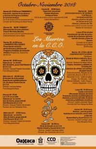 Events at the/Eventos a la Casa de Cultura de Oaxaqueña
