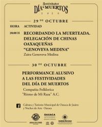 ONLINE Dia de Muertos en Oaxaca