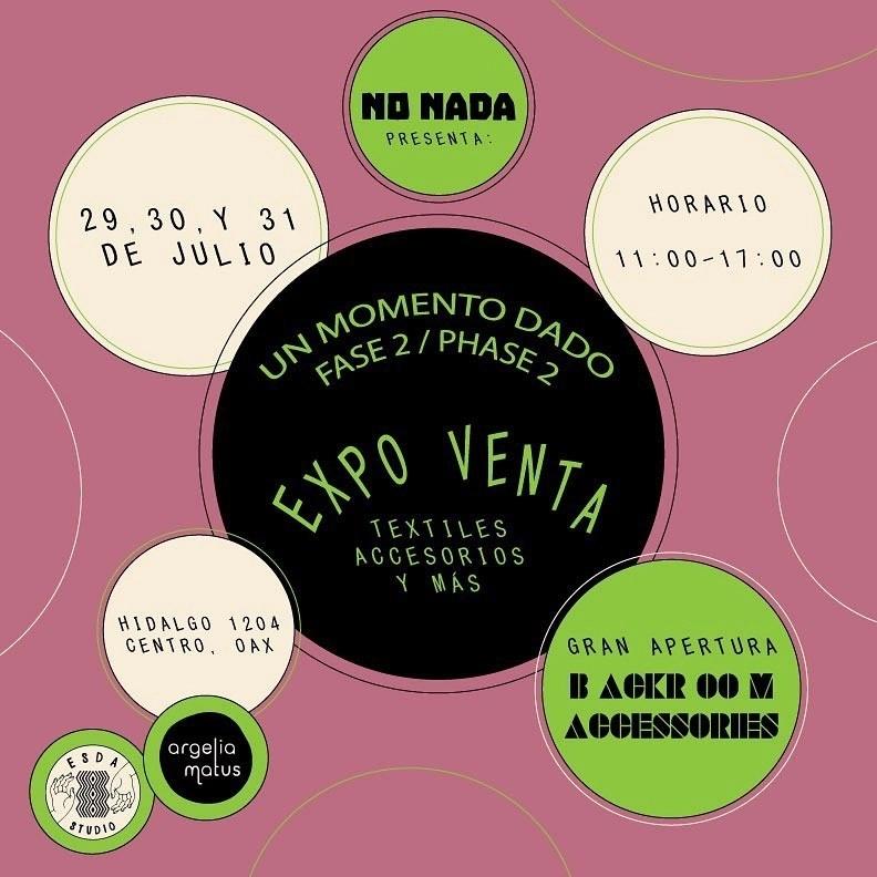 Expo-Venta: A given moment / Un momento dado
