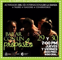 Dance with a Purpose / Bailar con un proposito