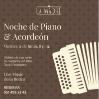A Night of Piano & Accordian / Noche de Piano y Acordeon