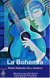 La Bohemia Voice & Guitar / Voz y Guitarra