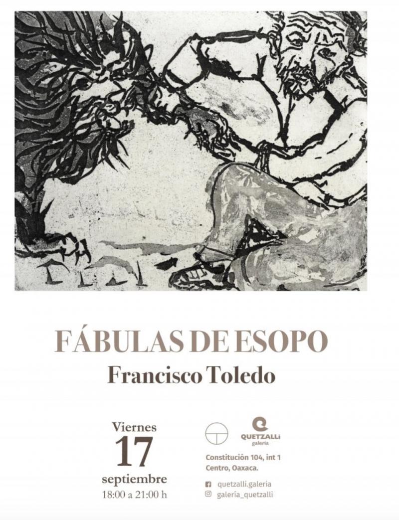 Aesops Fables: Francisco Toledo / Fabulus de Esop
