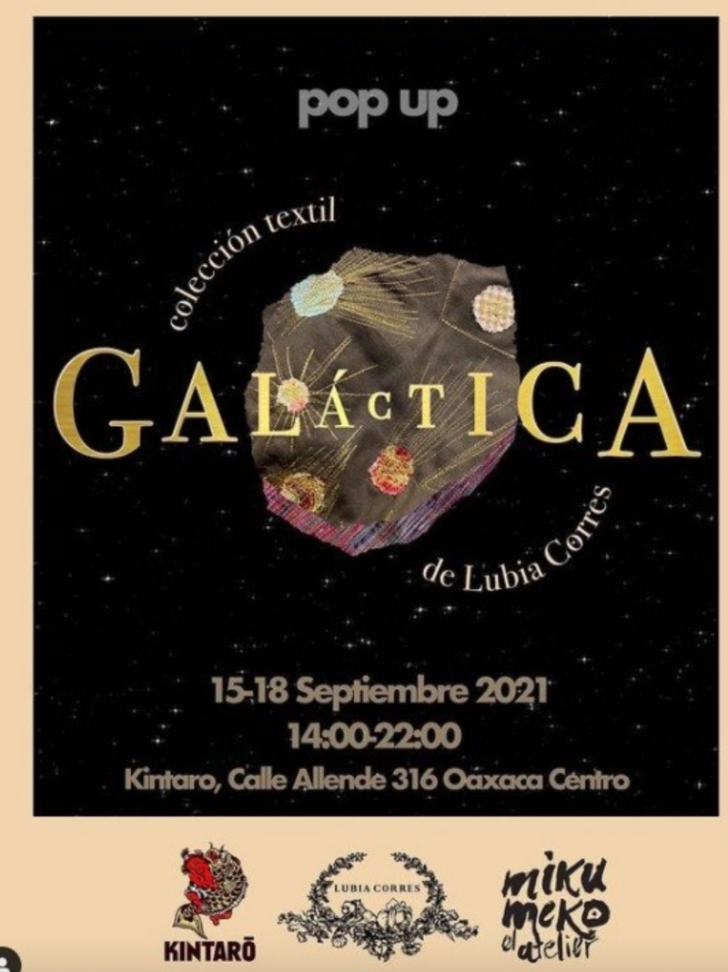 Galactica: Textiles by Lubia Corres