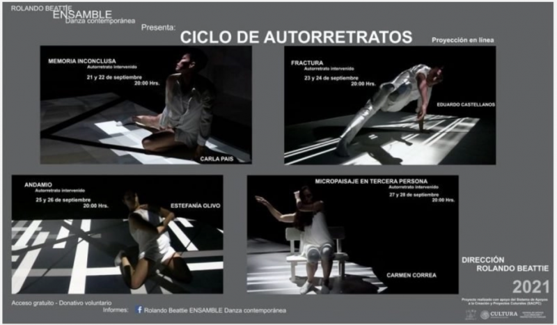 Self-Portraits Cycle: Contemporary Dance