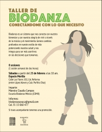 Biodanza: Connect with what you need / conectandome con lo que necesito
