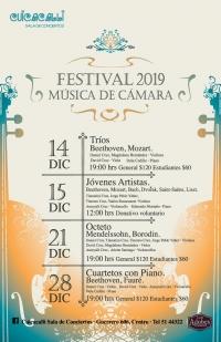 Winter Chamber Music Festival / Festival de música de cámara de invierno