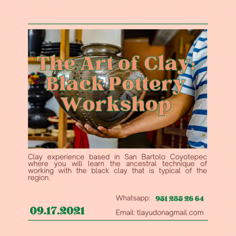 Hands in clay: Black pottery