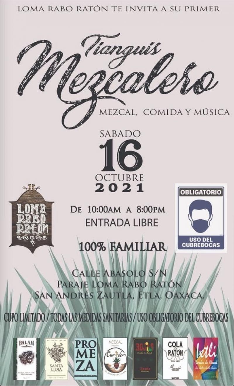 Tianguis Mezcalero, San Andrés Zautla, Etla