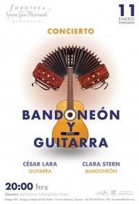 Concert/Concierto: guitarra y bandoneón